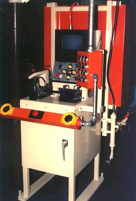 AIR PRESSURE DECAY LEAK TEST MACHINE