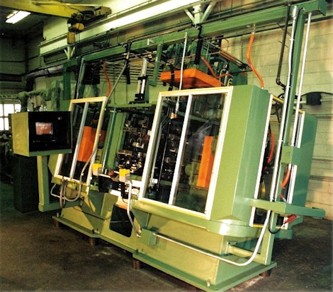 FOUR STATION BORE AND REAM MACHINE